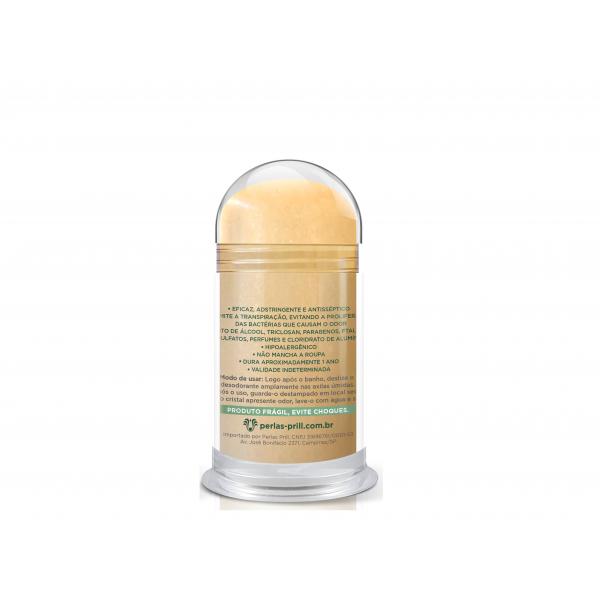 Desodorante Cristal Natural 60g  - Extrato de Curcumina